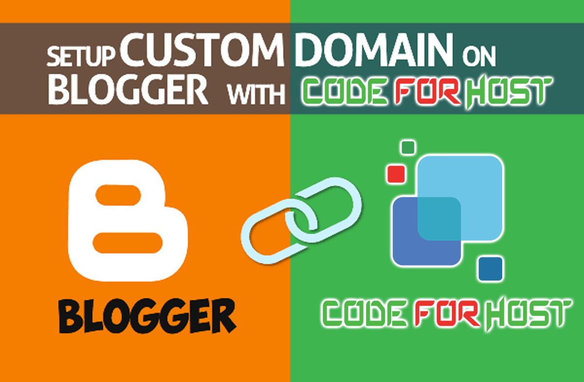 how to ad domain to blogger