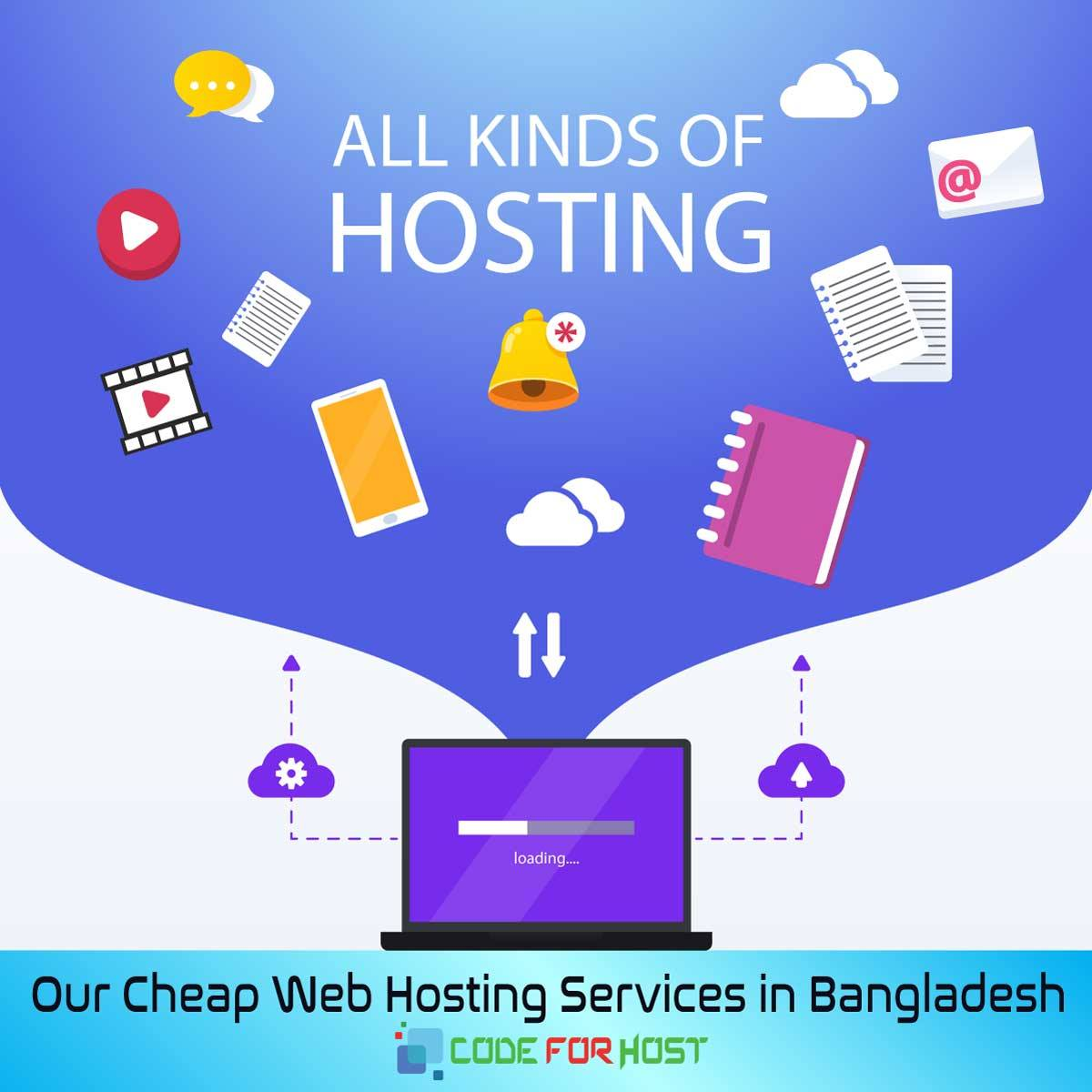 Cheap Web Hosting Services in Bangladesh